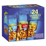 Planters® Variety Pack Peanuts & Cashews, Salted Peanuts; Honey Roasted Peanuts; Salted Cashews, Nuts, 1.75 oz; 1.5 oz (664570)