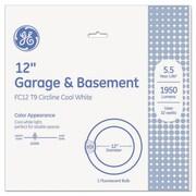 GE T9 Circline Garage & Basement Fluorescent Bulb, 32 W, Cool White, T9 Circline, Each (GEL33890)