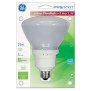 GE Energy Smart® Compact Fluorescent Light Bulb, 26 W, Soft White, R40, Each (GEL47479)