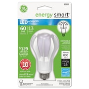 GE energy smart® Dimmable LED Bulb, 60 W, Soft White, A19, Each (GEL89899)