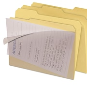 find It™ Clear View Interior File Folders, Letter, Manila, 8/Pack (FT07186)