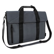 "Targus® T-1211 Slim Case, Polyester, 2"" x 16 3/8"" x 12 1/4"", Black/Gray (TST59504)"