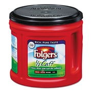Folgers® Coffee, Classic Roast Half-Caf, 6/Carton (2550000393CT)
