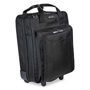 Targus  Corporate Traveler Vertical Rolling Laptop Case, Ballistic 1680 Denier Nylon, Black (CUCT02R)
