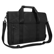 """Targus® T-1211 Slim Case, Polyester, 2"""" x 16 3/8"""" x 12 1/4"""", Black (TST595)"""