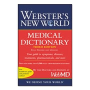 Houghton Mifflin Webster's New World™ Medical Dictionary, Third Edition, Paperback (1549536)