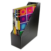 Artistic®, Urban Collection Punched Metal Magazine File, 3 1/2 x 10 x 11 1/2, Black, Each (ART20004)