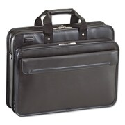 "Targus® 16"" Commuter™ Leather Laptop Case, Water-Resistant Leather, 30"" x 16 3/4"" x 12"", Black (TET027US)"