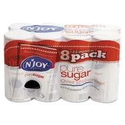 N'Joy Pure Sugar Cane Canisters, 22 oz, Plain, 8/Carton (827820)