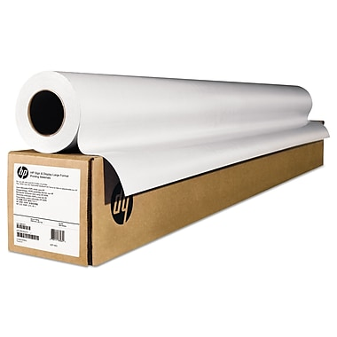 Hp Wide Format Matte Canvas Paper Roll Matte 36 Quot 50 Ft
