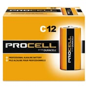 Duracell® Procell® Alkaline Batteries, C, 12/Box (PC1400)