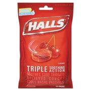 Halls® Triple Action Cough Drops, 4/Box (312546627499)