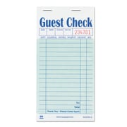 Royal Guest Check Book, 3 1/2 x 6 7/10, 2500/Carton (RPP GC6000-2)