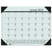 House of Doolittle™ EcoTones® Monthly Desk Pad Calendar, 2016, 22 x 17, Woodland Green (12471)