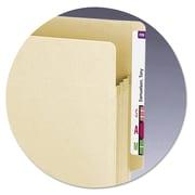 Smead® End Tab TUFF® Pockets, Manila, Letter, 10/Pack (75150)