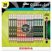 Zebra Cadoozles Mechanical Pencil, HB #2, 0.9 mm, Black, Each (51628)