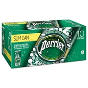 Perrier® Sparkling Natural Mineral Water, Original, 8 oz Can, 30/Carton (12188938)