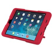Kensington® BlackBelt™ 2nd Degree Rugged Case, PC; Silicon Rubber, iPad® mini, Red (K97081WW)