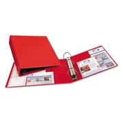 Avery® Heavy Duty Non-View Binder with Locking One Touch EZD™ Rings, 11 x 8 1/2, Non-View, Each (79582)