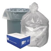 Good 'n Tuff® Waste Can Liners Trash Bags, 8 microns Thickness, Natural, 30 gal, 500/Carton (GNT3037)