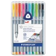 Staedtler® triplus® Fineliner Marker, Assorted, Each (334 SB10A6)