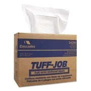 "Cascade Tuff-Job® Scrim Reinforced Wipers, 9 3/4"" x 16 3/4"", 900/Carton (34200)"