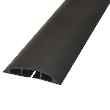 d line light duty floor cable cover cord concealer 72 black cc 1 staples. Black Bedroom Furniture Sets. Home Design Ideas