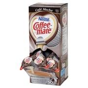 Coffee-mate® Liquid Coffee Creamer, 0.375 oz, Cafe Mocha, 200/Carton (35115CT)