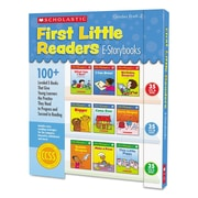 Scholastic First Little Readers, Reference Books, Reading, Grades Pre K-2, Each (552233)