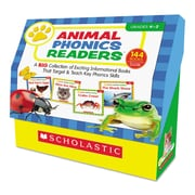 Scholastic Animal Phonics Readers, Reference Books, Reading, Grades K-2, Each (557814)