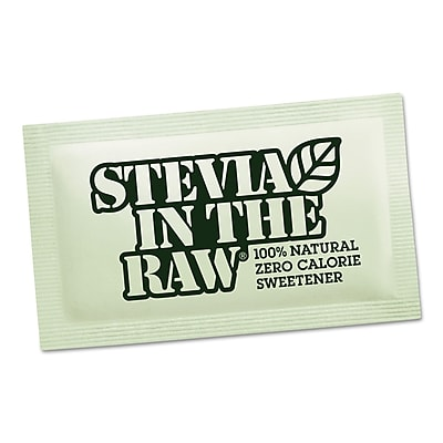 Stevia in the Raw Sweetener, 2.5 oz, 12/Carton (75050 CASE) SMU75050CT
