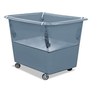 Royal Basket Trucks Poly Spring Lift, Steel/Vinyl, Multi-purpose Cart, Gray (R16GGXPSN)