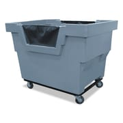 "Royal Basket Trucks Mail Truck, 31 3/4"" x 48"", Steel; Polyethylene; Rubber; Vinyl, Multi-purpose Cart, Gray (R23GRXMC4UN)"