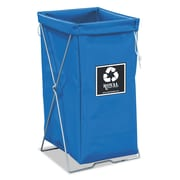 "Royal Basket Trucks Hamper Kit, 15"" x 16"", Steel; Vinyl, Utility Cart, Blue (R00BBXEBK)"