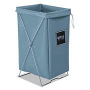 "Royal Basket Trucks Hamper Kit, 15"" x 16"", Steel; Vinyl, Utility Cart, Gray (R00GGXHBK)"