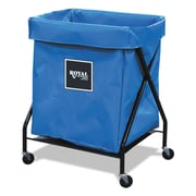 "Royal Basket Trucks X-Frame Cart, 21"" x 26"", Steel; Plastic; Vinyl, Multi-purpose Cart, Blue (R08BBXFA3ON)"