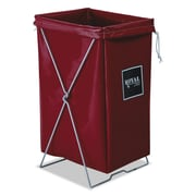 "Royal Basket Trucks Hamper Kit, 15"" x 16"", Steel; Vinyl, Utility Cart, Red (R00RRXHBK)"