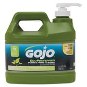 GOJO  Ecopreferred ™ Pumice Hand Cleaner, Lime, 1/2 gal, 4/Carton (0937-04)