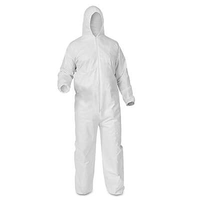 KleenGuard* A35 Coveralls Large White 38938