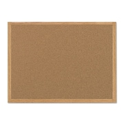 "MasterVision® Value Cork Board with Oak Frame, 24"" x 36"" (MC070014231)"