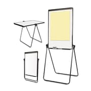 "MasterVision® Folds-to-a-Table Melamine Easel, Black, 28 1/2"" x 37 1/2"" (EA14000583MV)"