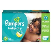 Pampers® Baby Dry® Diapers, Size 5, 128/Carton (10037000862397)