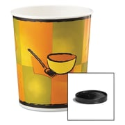 Huhtamaki Soup Containers with Vented Lids, 32 oz, 250/Carton (HUH 71853)