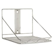 "Rubbermaid® Commercial ProSave™ Shelf Ingredient Bin Wall-Mount Rack, 10 5/8"" x 7 1/4"", 2/Carton (FG9G8100CHRM)"