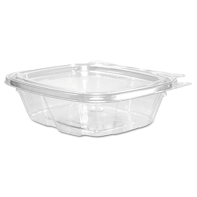 Dart ClearPac Clear Container Lid Combo-Packs, 8 oz, Clear, 200/carton (DCC CH8DEF) DCCCH8DEF