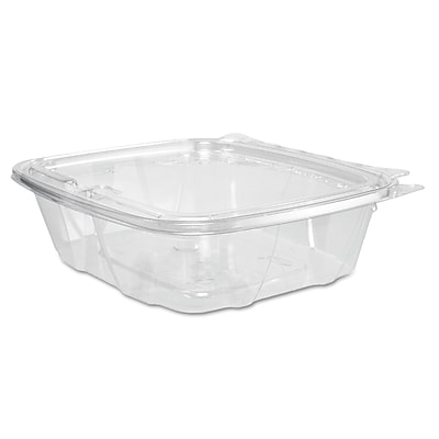 Dart ClearPac Clear Container Lid Combo-Packs, 24 oz, Clear, 200/carton (DCC CH24DEF) DCCCH24DEF