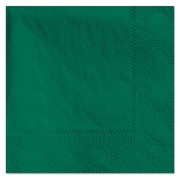 Hoffmaster® Embossed Beverage Napkins, 2-Ply, Hunter Green, 1000/Carton (HFM 180337)