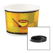 Huhtamaki Soup Containers with Vented Lids, 12 oz, 250/Carton (HUH 71850)