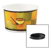 Huhtamaki Soup Containers with Vented Lids, 4/5 oz, 250/Carton (HUH 71849)