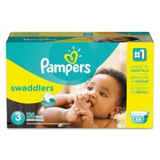 Pampers® Swaddlers Diapers, Size 3, 136/Carton (10037000863738)